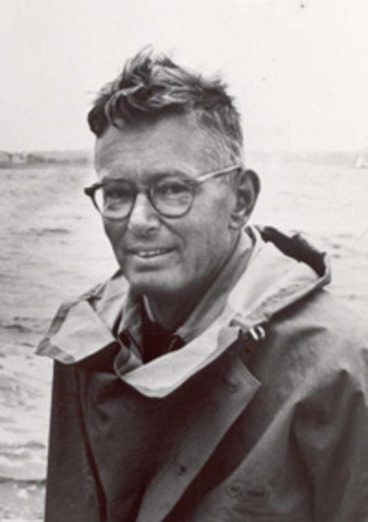 Olin Stephens architecte naval qui à dessiné Constellation vainqueur de la Coupe de l'América en 1964