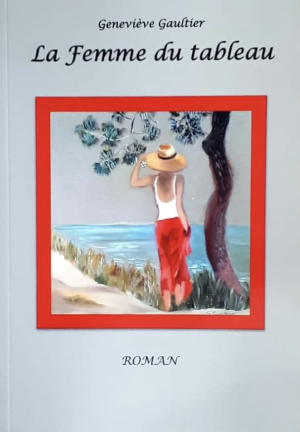 "Roman ""La femme du tableau"" de Geneviève Gautier"
