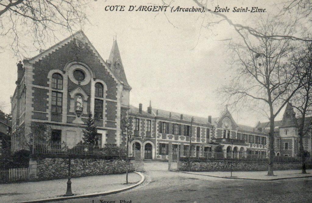 Le lycée Saint Elme, Arcachon