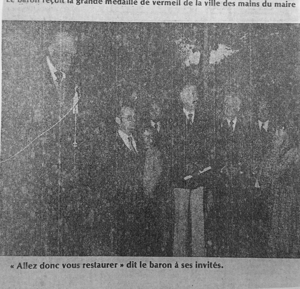 Grande soirée organisée au lycée Saint Elme, Journal SO