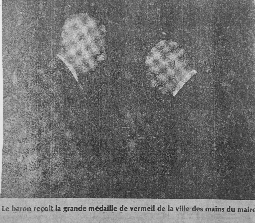 Monsieur Fleury, Maire d'Arcachon. Photo SO