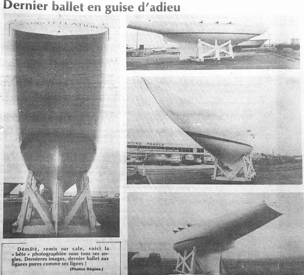 Les dernières photographies de Constellation avant son départ prises par Régine Rosenthal, Journal SO
