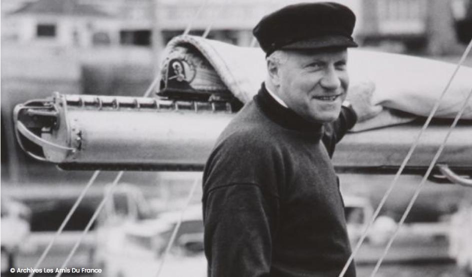 Le baron Bich, photographie Voiles et voiliers