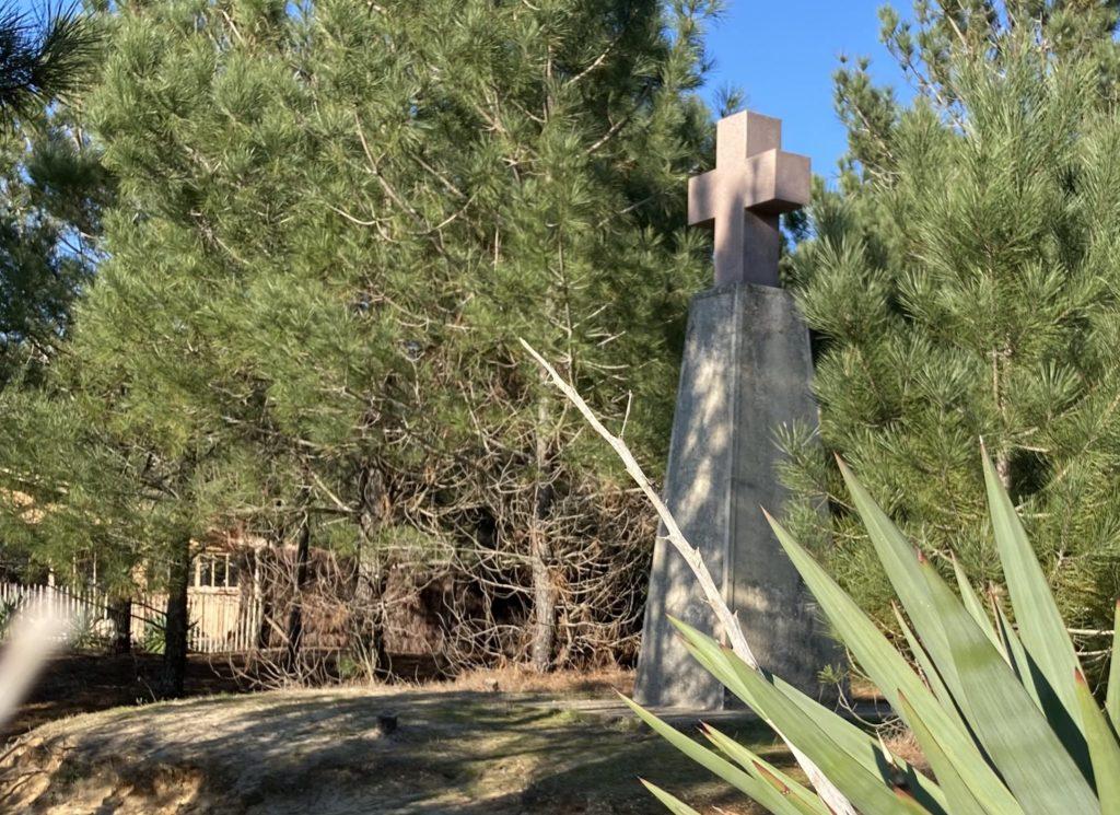 L'actuelle Croix des Marins du Cap Ferret