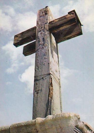 La seconde Croix des Marins du Cap Ferret en 1960