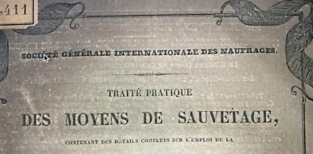 Société Générale Internationale des Naufrages