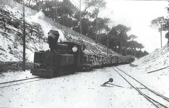 Chemin de fer léger, Paul de  /infobassin.com