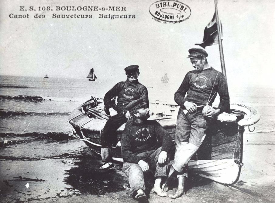 Canot de sauvetage à Boulogne