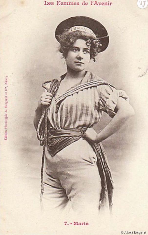 """La femme """"marin"""" en 1902"""