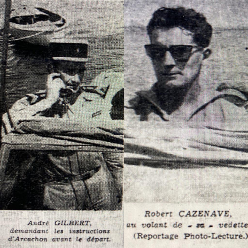 André Gilbert et Robert Cazenave