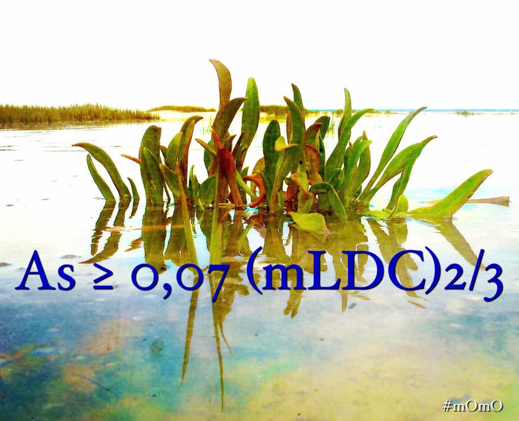 As ≥ 0,07 (mLDC)2/3