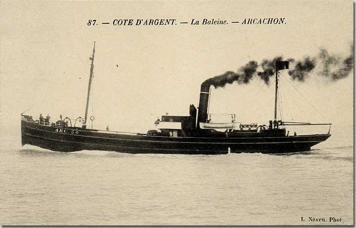 """Le chalutier vapeur """"La Baleine"""""""