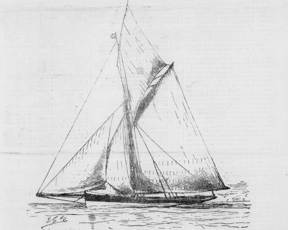 Le cutter-yacht Zampa