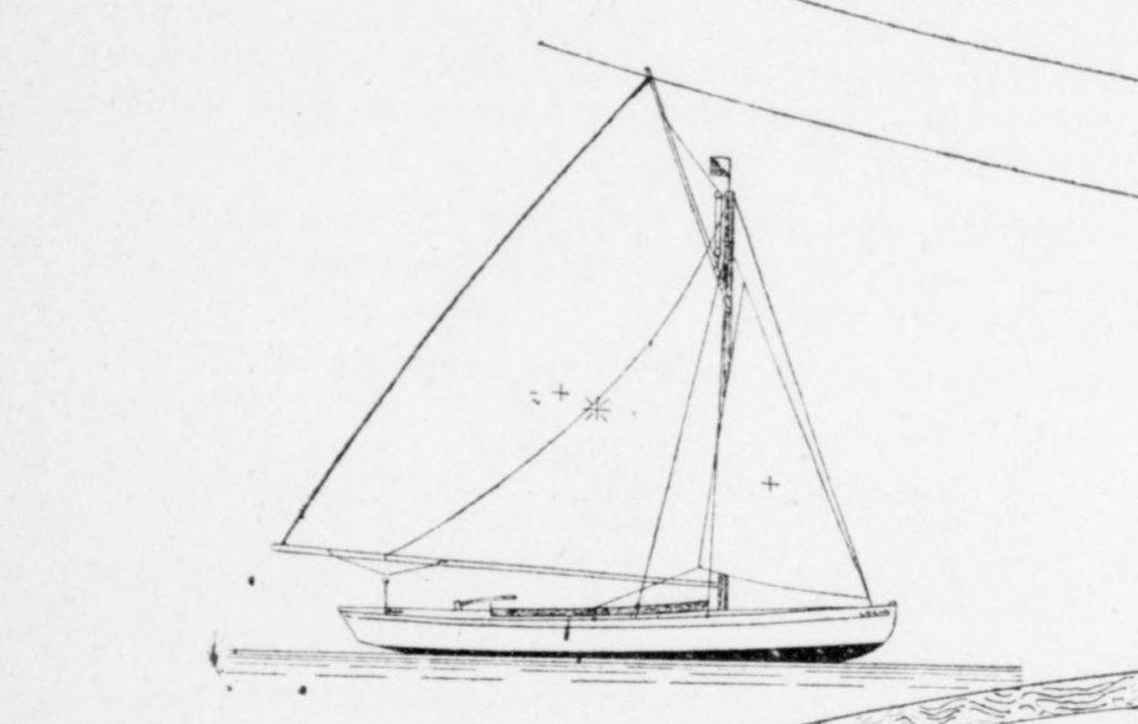 Le yacht monotype de F. Picamilh