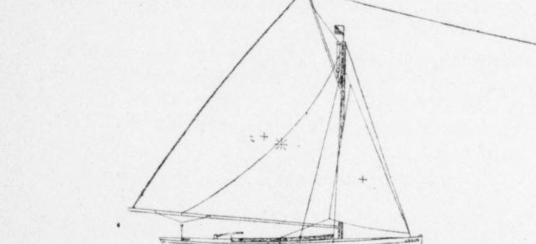 Le yacht-monotype de F. Picamilh