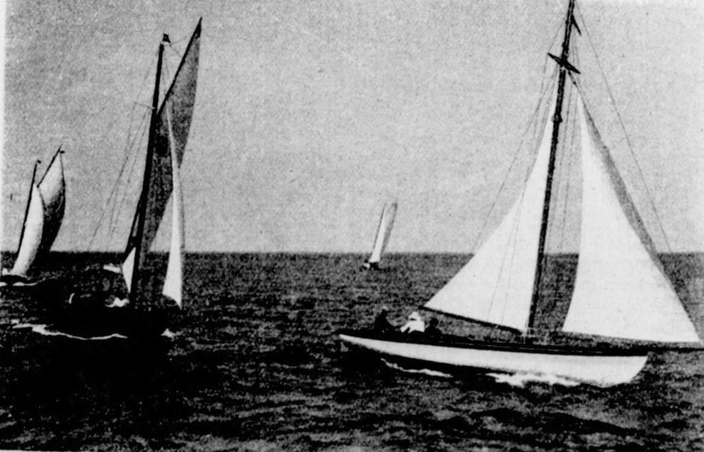 Les canots à dérive d'Arcachon Mab et Selika. Photographie Léo Neveu