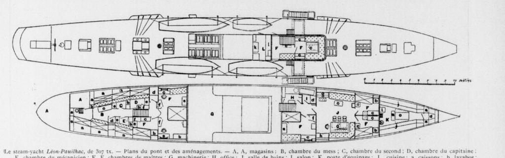 Les plans du Léon Pauilhac