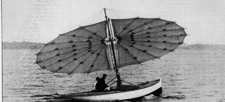 Le bateau parasol