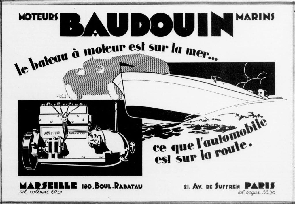 Moteurs Baudoin