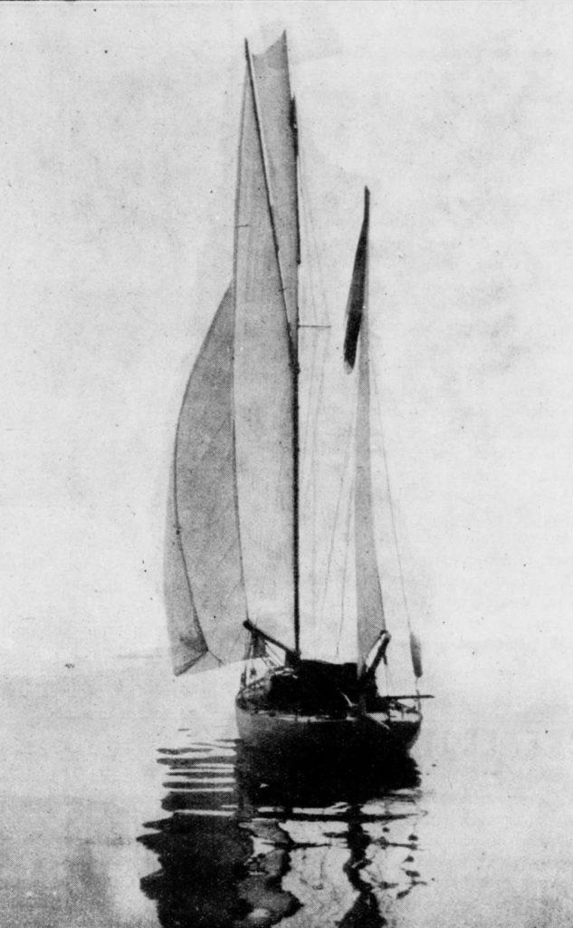 L'Horizon, chantier Bonnin 1898