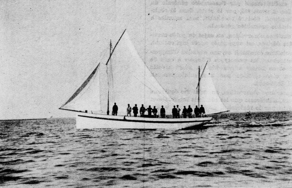 L'Angelus bateau du Bassin d'Arcachon pour la pêche à la sardine