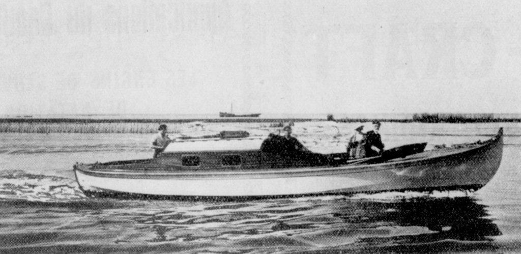 Ombre-Blanche, chantier Bonnin 1932