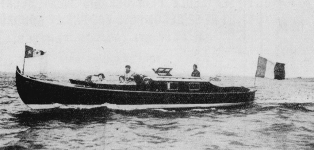 Miramar II, chantier Bonnin 1932